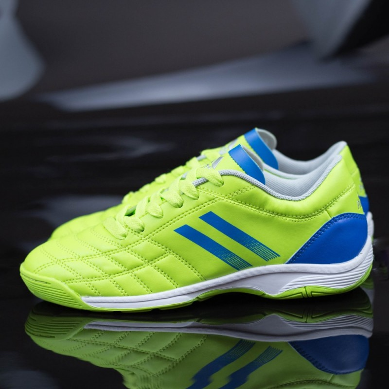 Ghete Fotbal Baieti 9265-C Verde-Albastru Panter