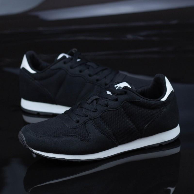 Pantofi Sport Baieti K217-A Negru-Alb Panter