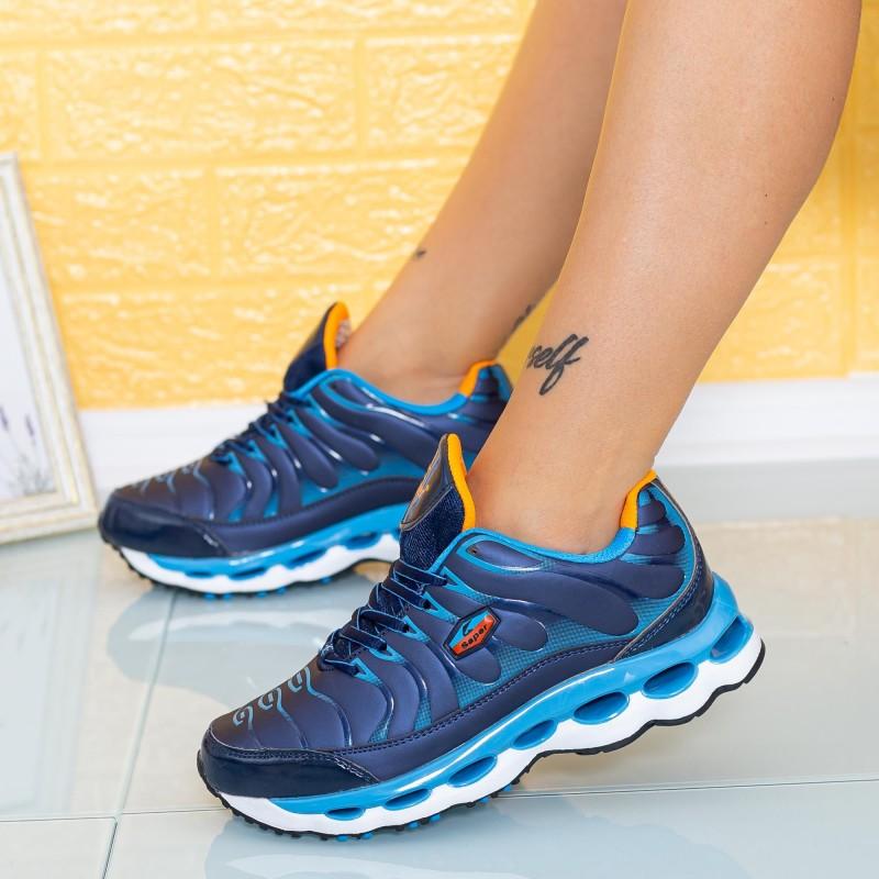 Pantofi Sport Copii M85 Albastru-Albastru deschis Mei