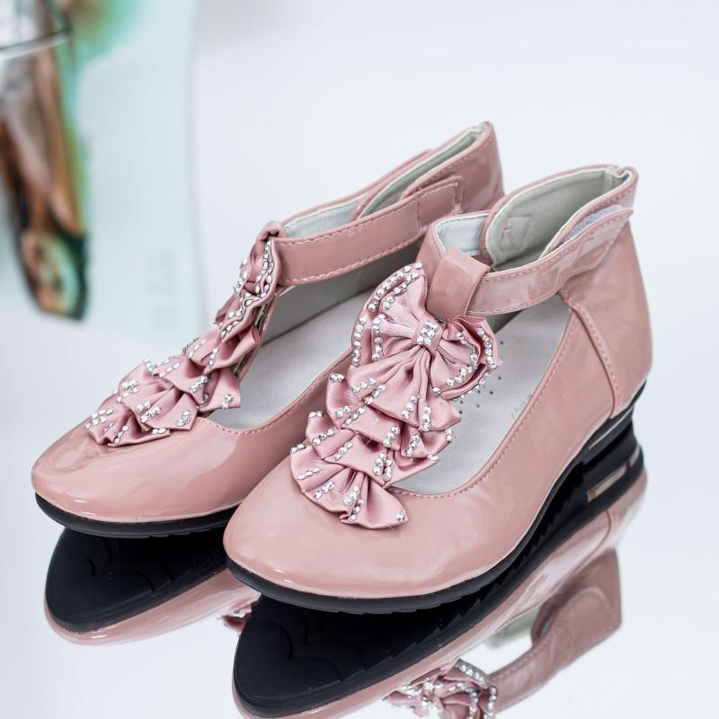 Pantofi Casual Fete A885-13 Roz Mei