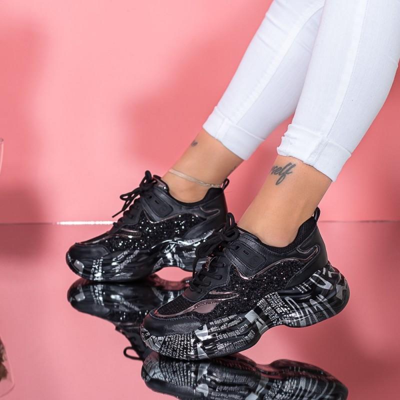 Pantofi Sport Dama SZ330 Negru Mei