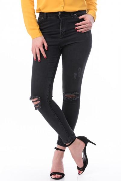 Jeans 7004 Black Mei