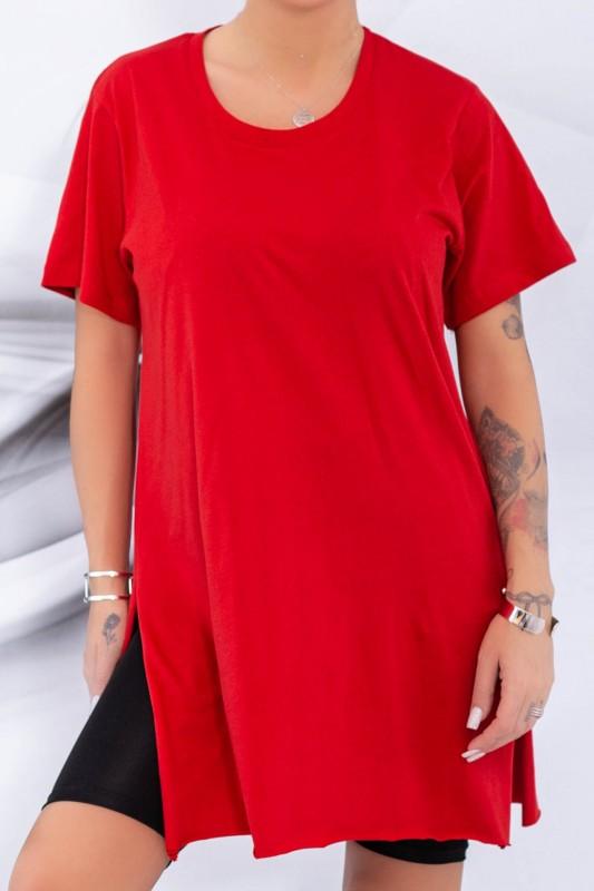 Tricou Dama 9633 Rosu Adrom