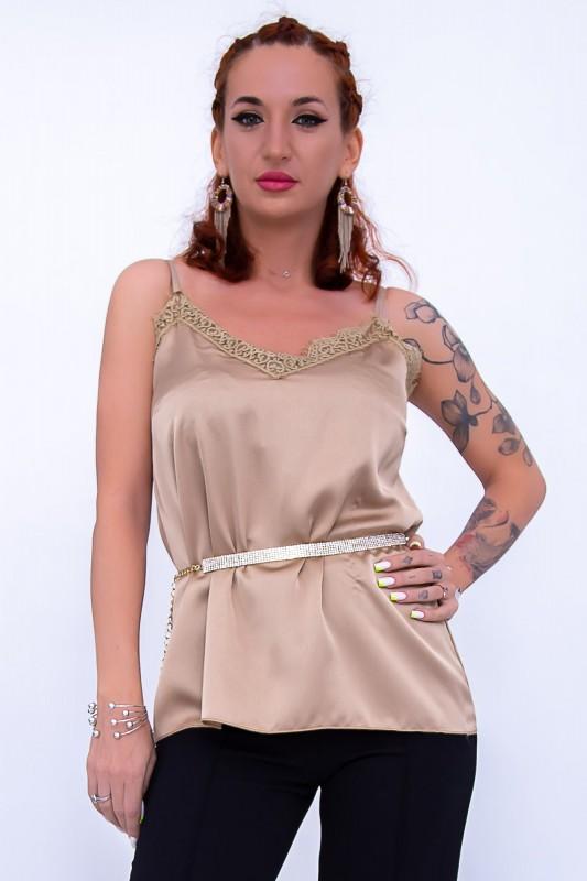 Maiou Dama 1336 Bej Fashion