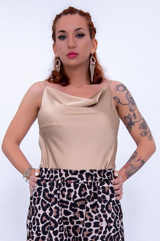 Maiou Dama 2897 Bej Fashion