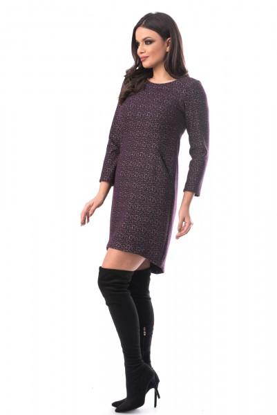 Rochie 631 Purple Mei