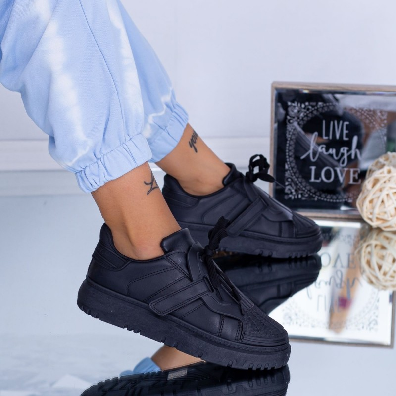 Pantofi Sport Dama LF1901 Negru ABC