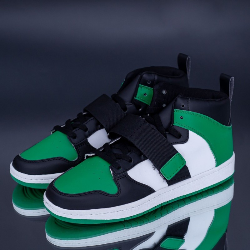 Pantofi Sport Barbati H54 Negru-Verde Rxr