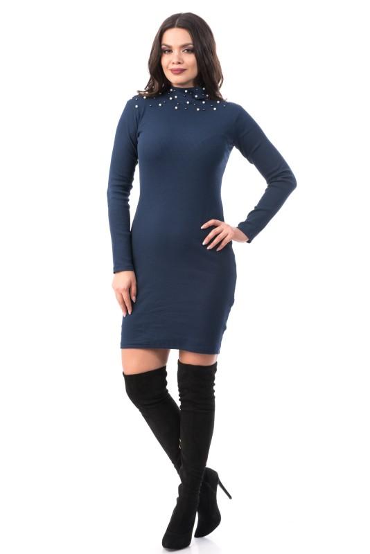 Rochie 6589 Dark Blue Mei