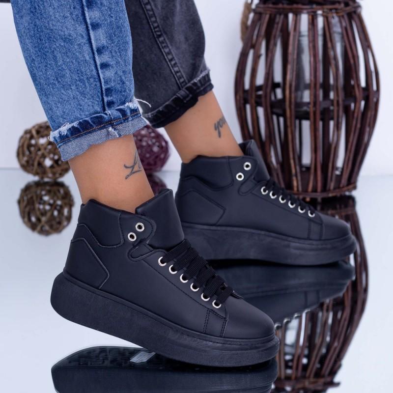 Pantofi Sport Dama 6616 Negru Fashion