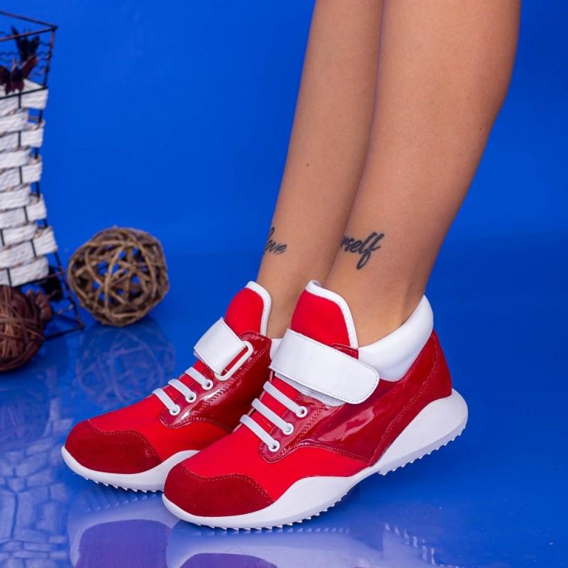 Pantofi Sport Dama 9077-66 Rosu Mei