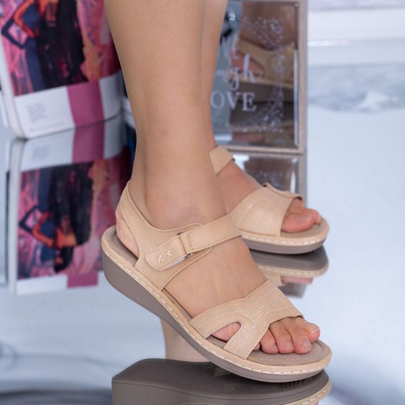 Sandale Dama BZ5 Bej Mei