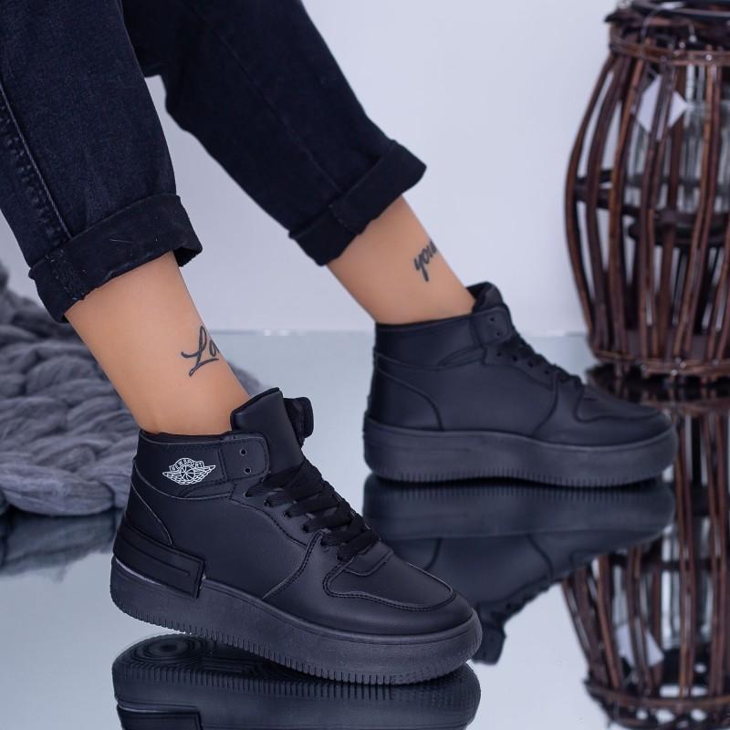 Pantofi Sport Dama GY619 Negru Fashion