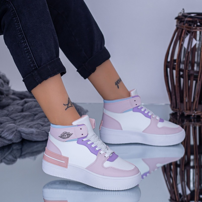 Pantofi Sport Dama GY619 Roz Fashion