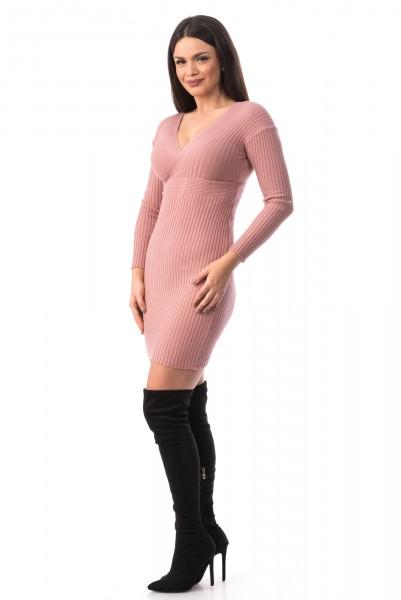 Rochie TRICOT 8 Pink Mei