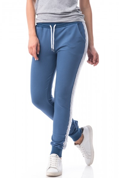 Pantaloni Dama 6662-NOU Light Blue Mei