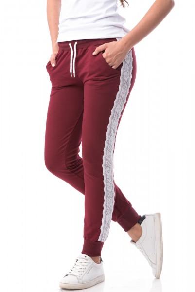 Pantaloni Dama 6662-NOU Red Wine Mei