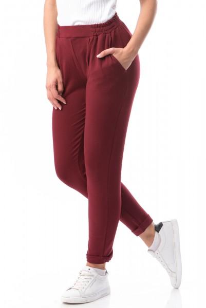 Pantaloni Dama 6784 Red Wine Mei