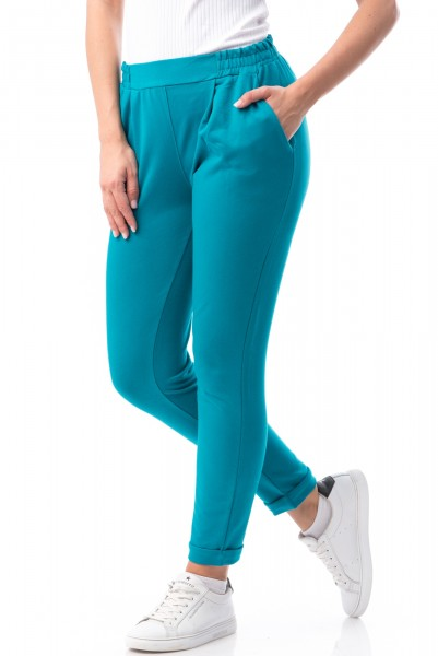 Pantaloni Dama 6784 Light Blue Mei