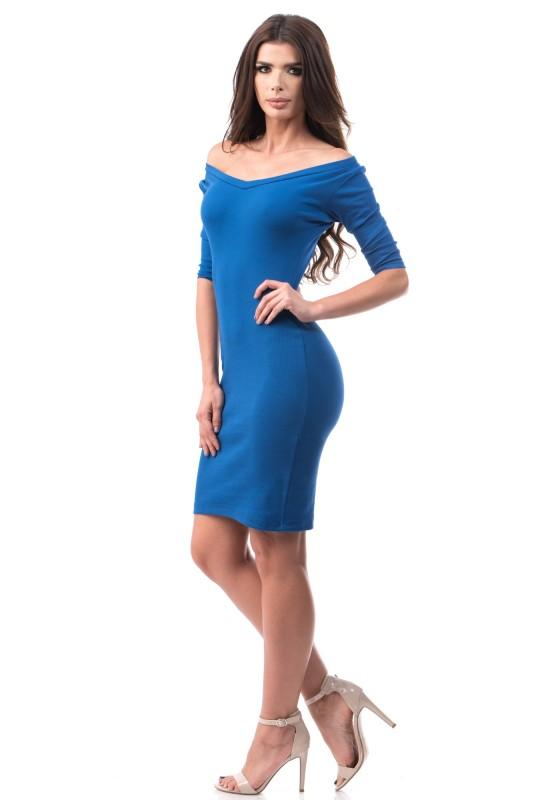 Rochie 6733 Electric Blue Mei