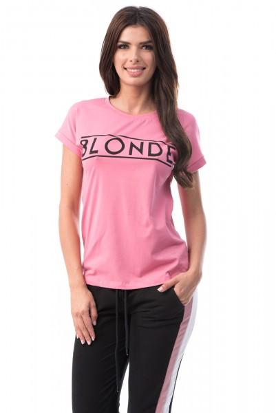 Tricou Dama 6737 Pink Mei
