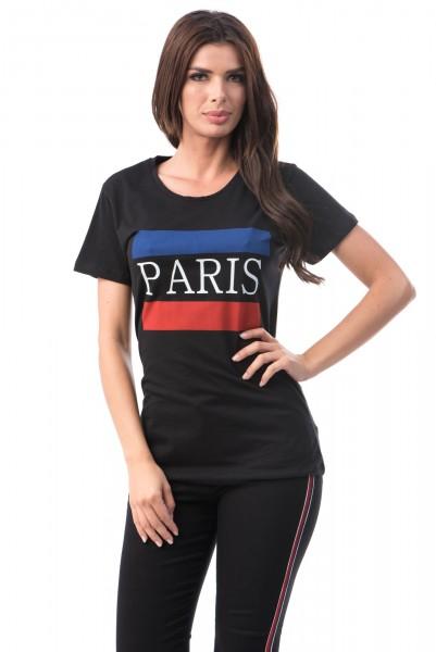 Tricou Dama PARIS 6774-3 Black Mei