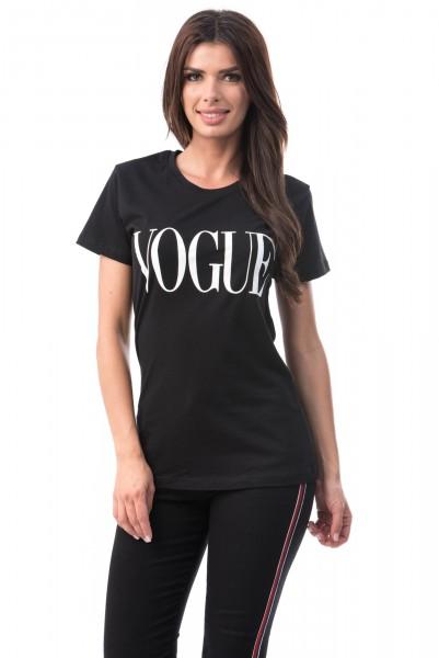 Tricou Dama VOGUE 6774-4 Black Mei