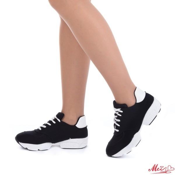 Pantofi Sport Dama 121 Black Mei
