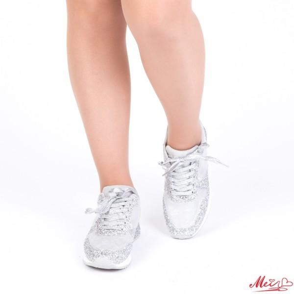 Pantofi Sport Dama 1727905B# Silver Mei