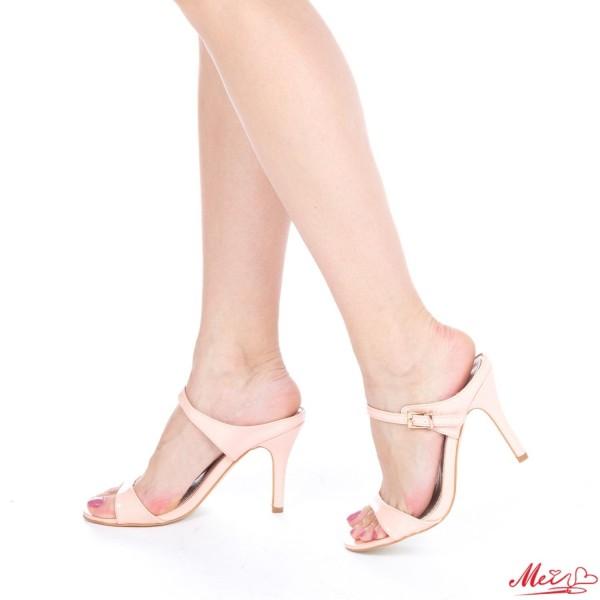 Sandale Dama cu Toc AF06 Pink Mei