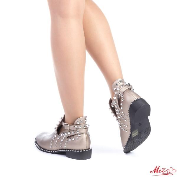 Pantofi Casual Dama AF121 Gold Mei