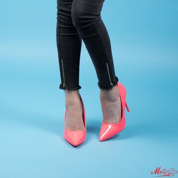 Pantofi cu Toc AF21 Pink Mei