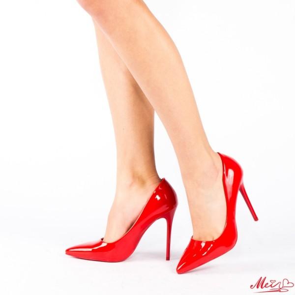 Pantofi cu Toc AF21 Red Mei