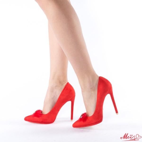Pantofi cu Toc AF65 Red Mei