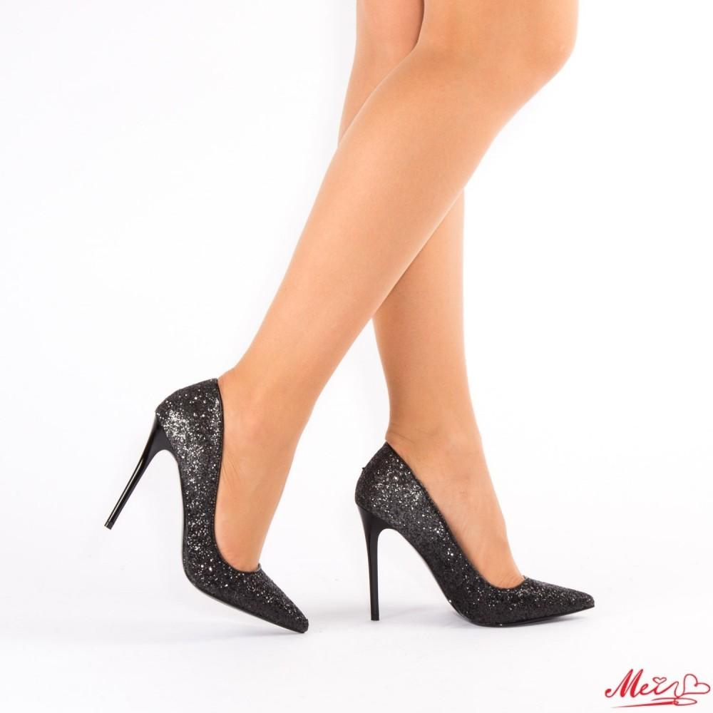 Pantofi cu Toc AF98 Black Mei