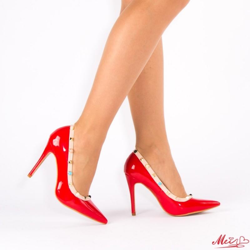 Pantofi cu Toc AF99 Red Mei