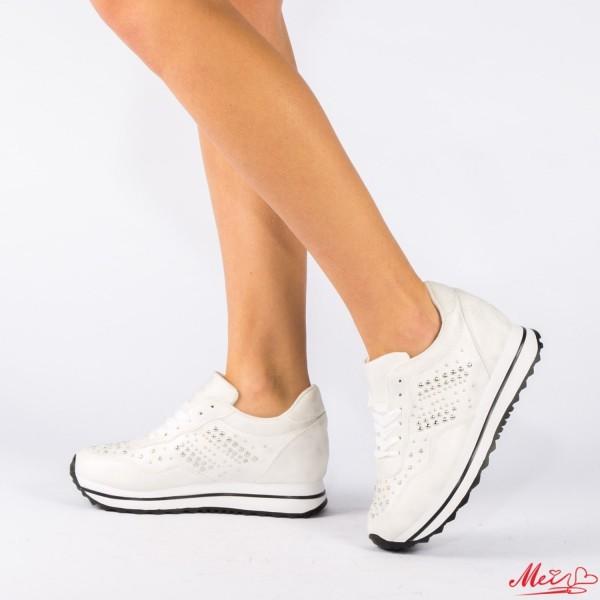 Pantofi Sport Dama AN21 White Mei