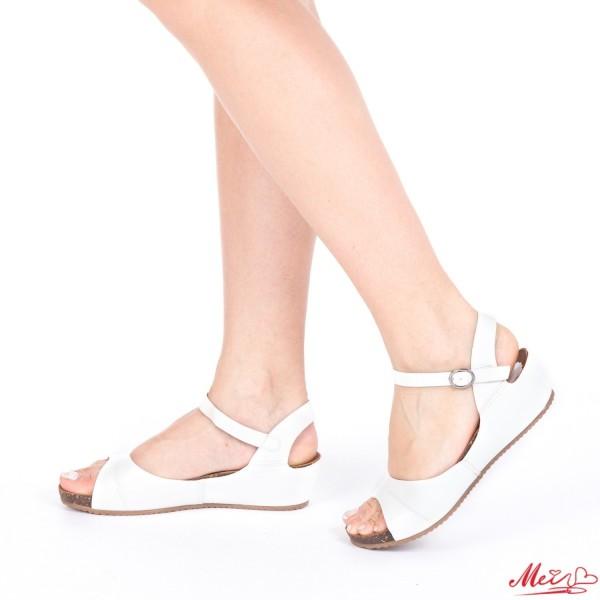 Sandale Dama BZ1 White Mei