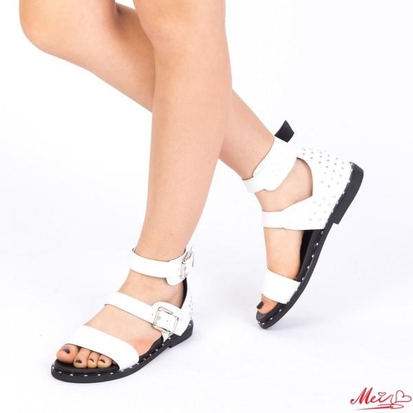 Sandale Dama FD13 White Mei