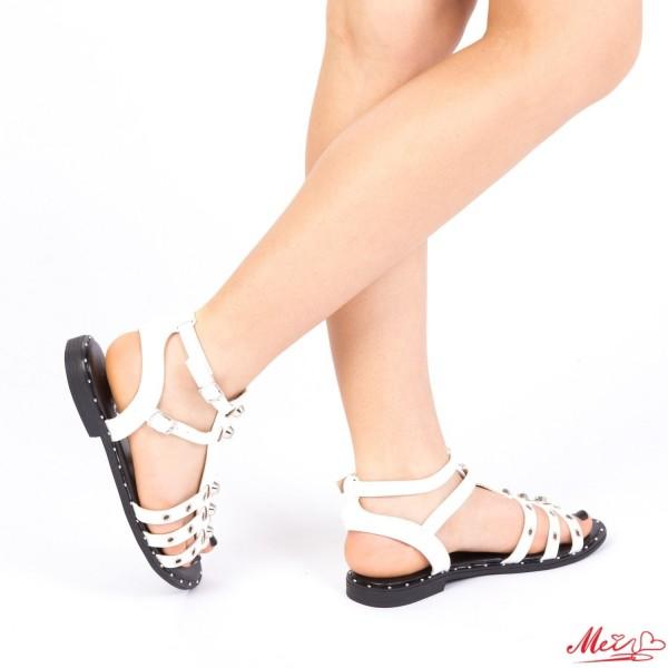 Sandale Dama FD15 White Mei