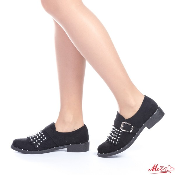 Pantofi Casual Dama FD5 Black Mei