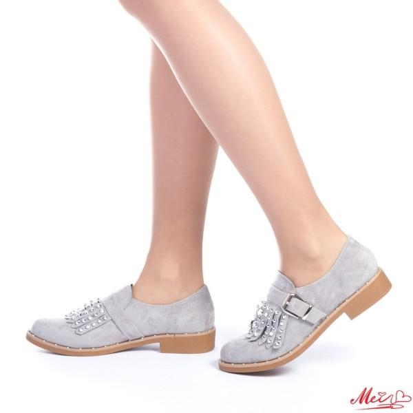 Pantofi Casual Dama FD5 Grey Mei