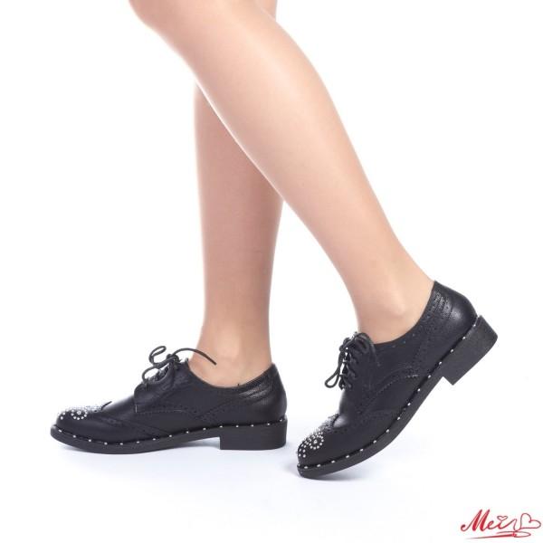 Pantofi Casual Dama FD6 Black Mei