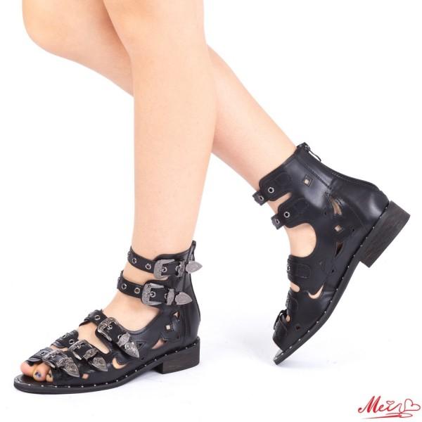 Sandale Dama FD7 Black Mei