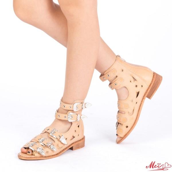 Sandale Dama FD7 Beige Mei