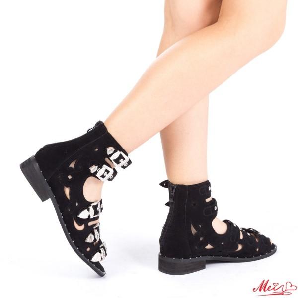 Sandale Dama FD7A Black Mei