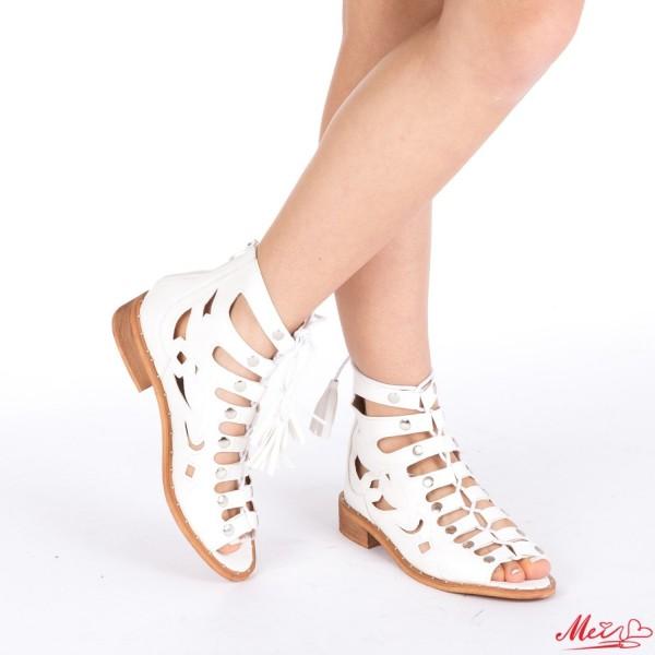 Sandale Dama FD9 White Mei