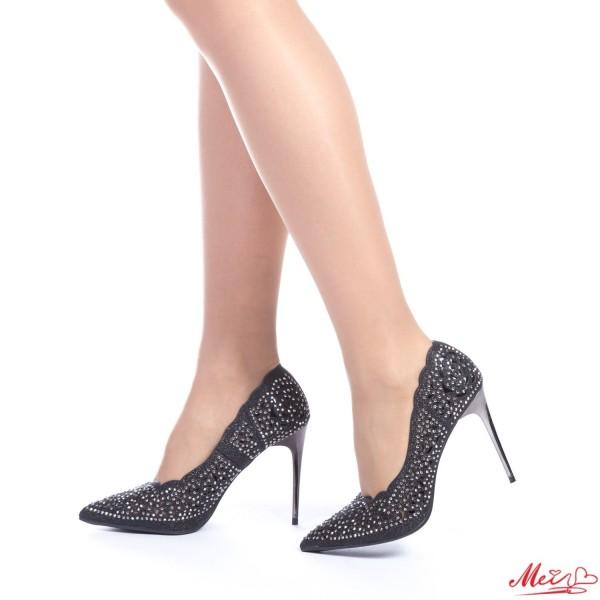Pantofi cu Toc GE2 Black Mei
