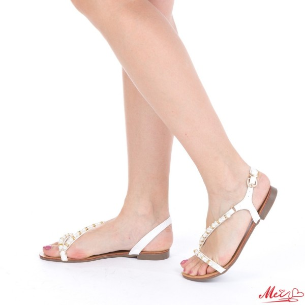 Sandale Dama HG118 White Mei