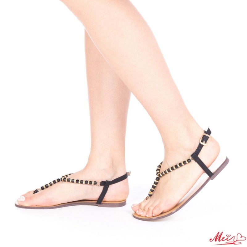Sandale Dama HG128 Black Mei